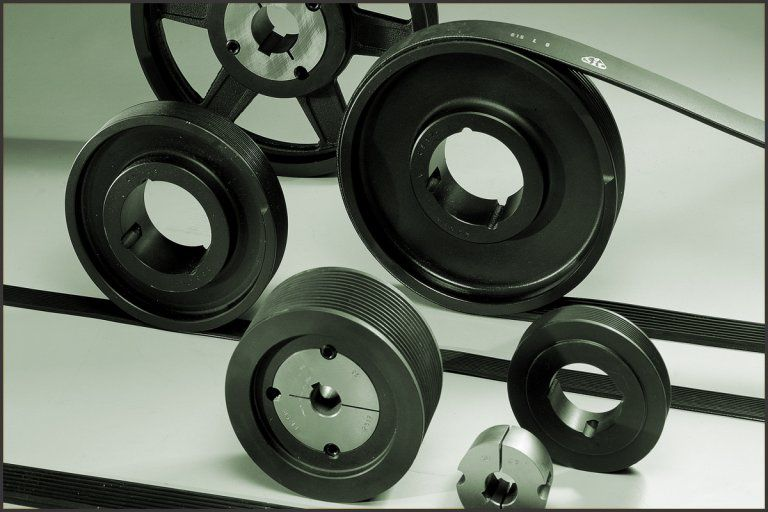 trapezoidal pulleys